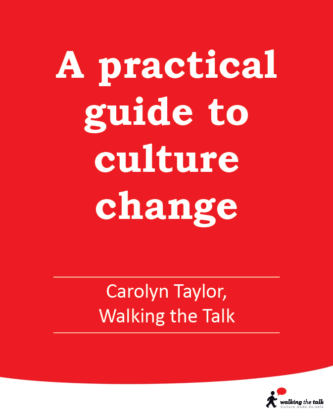 A practical guide to culture change video