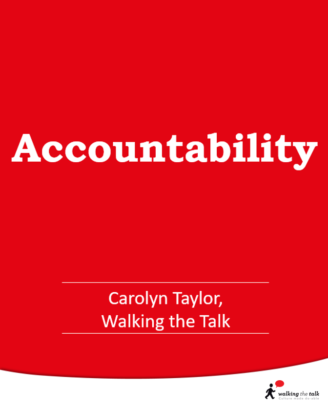 Accountability video