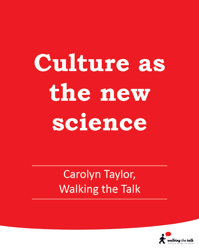 Culture as the new science video