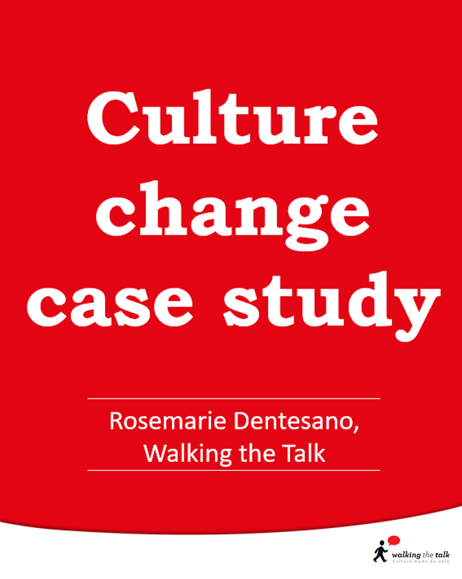 Culture change case study video