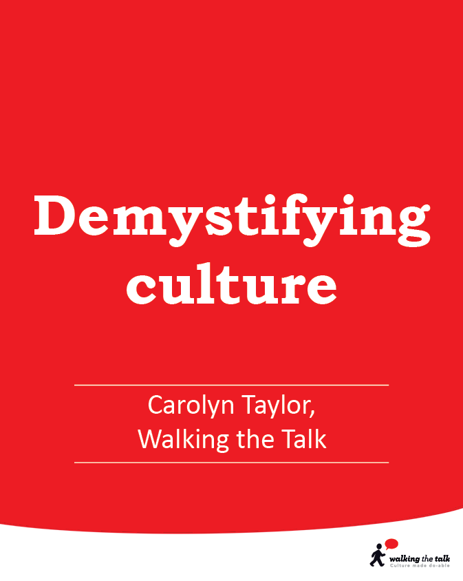 Demystifying Culture video