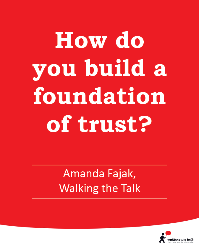Foundation of trust? video