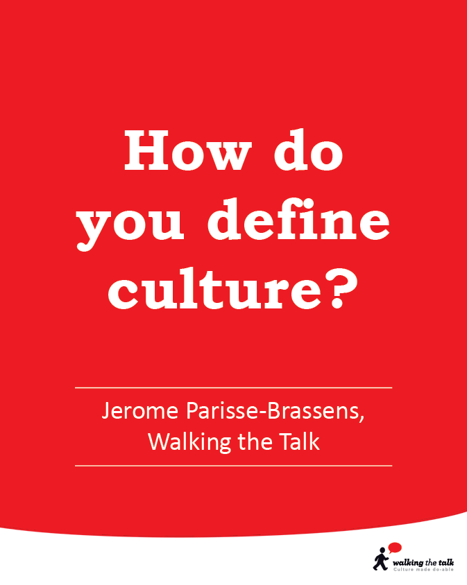 How do you define culture