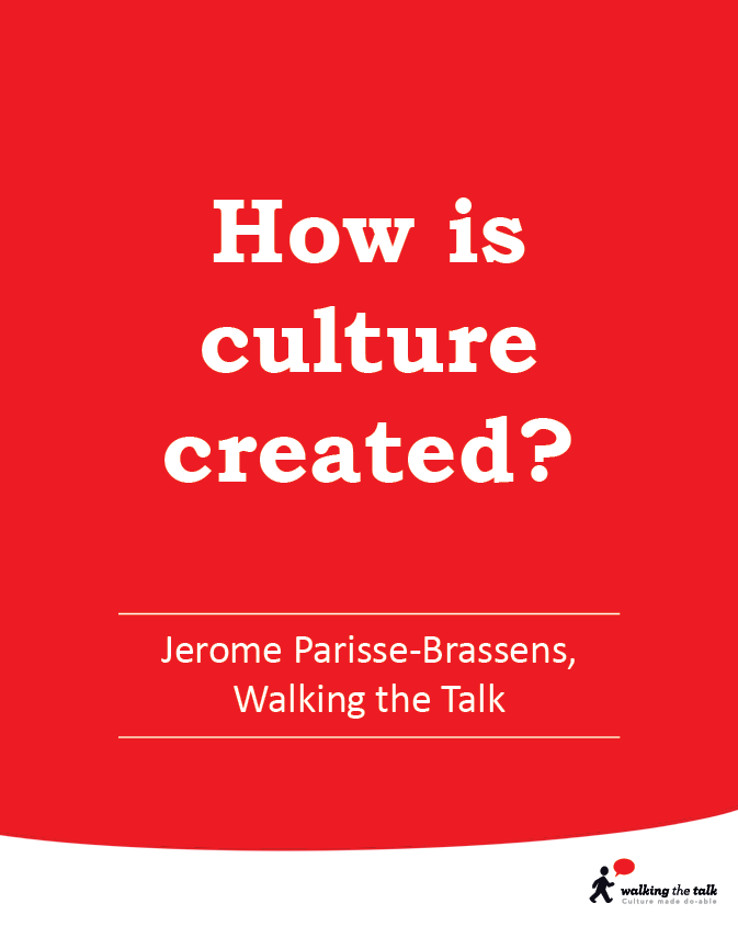 How is culture created? video