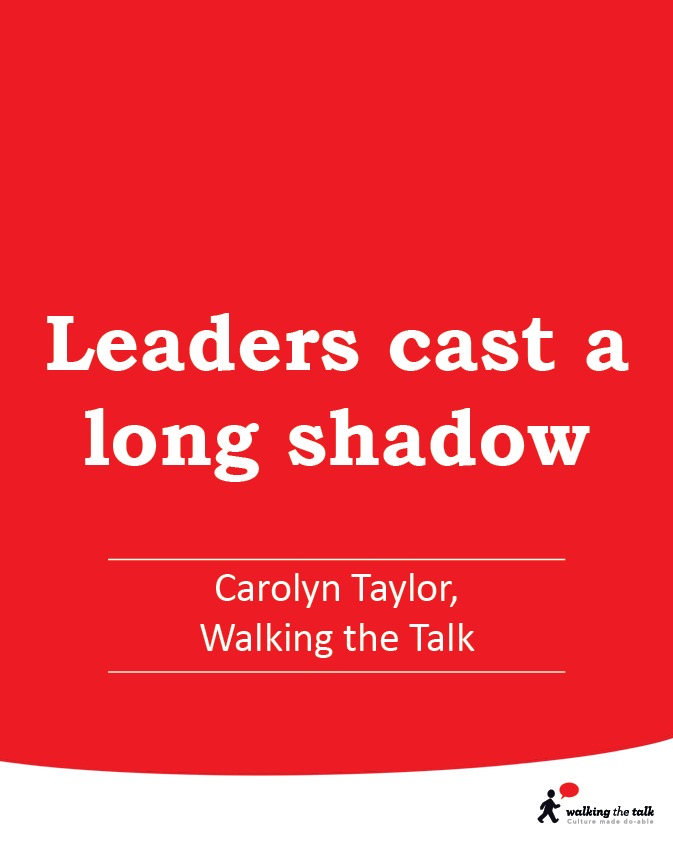 Leaders cast a long shadow