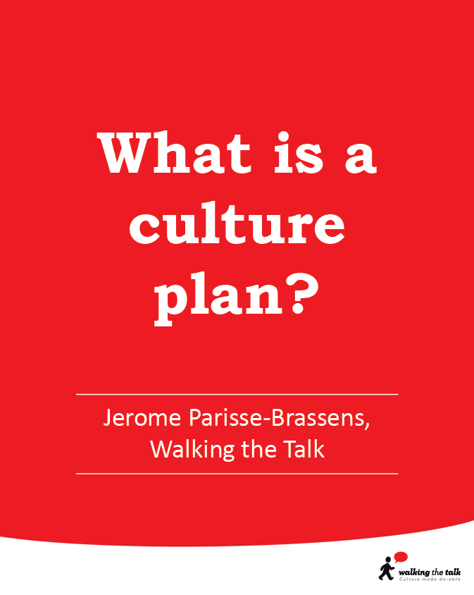 What is a culture plan?