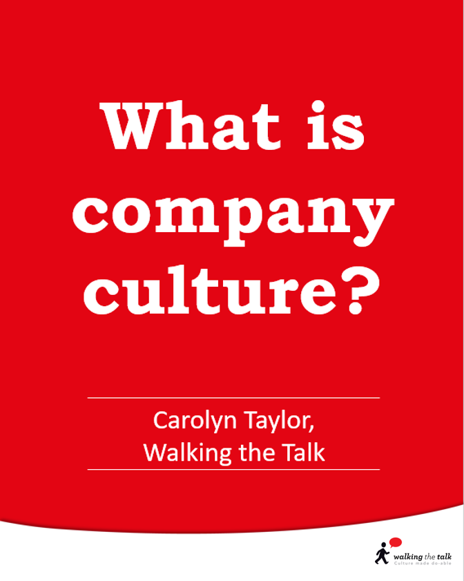 What is company culture? video