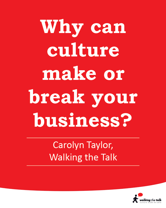 why can culture make or break your culture video