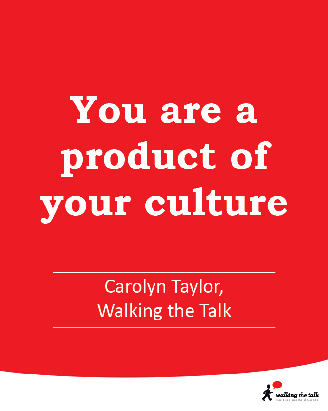 Product of your culture video