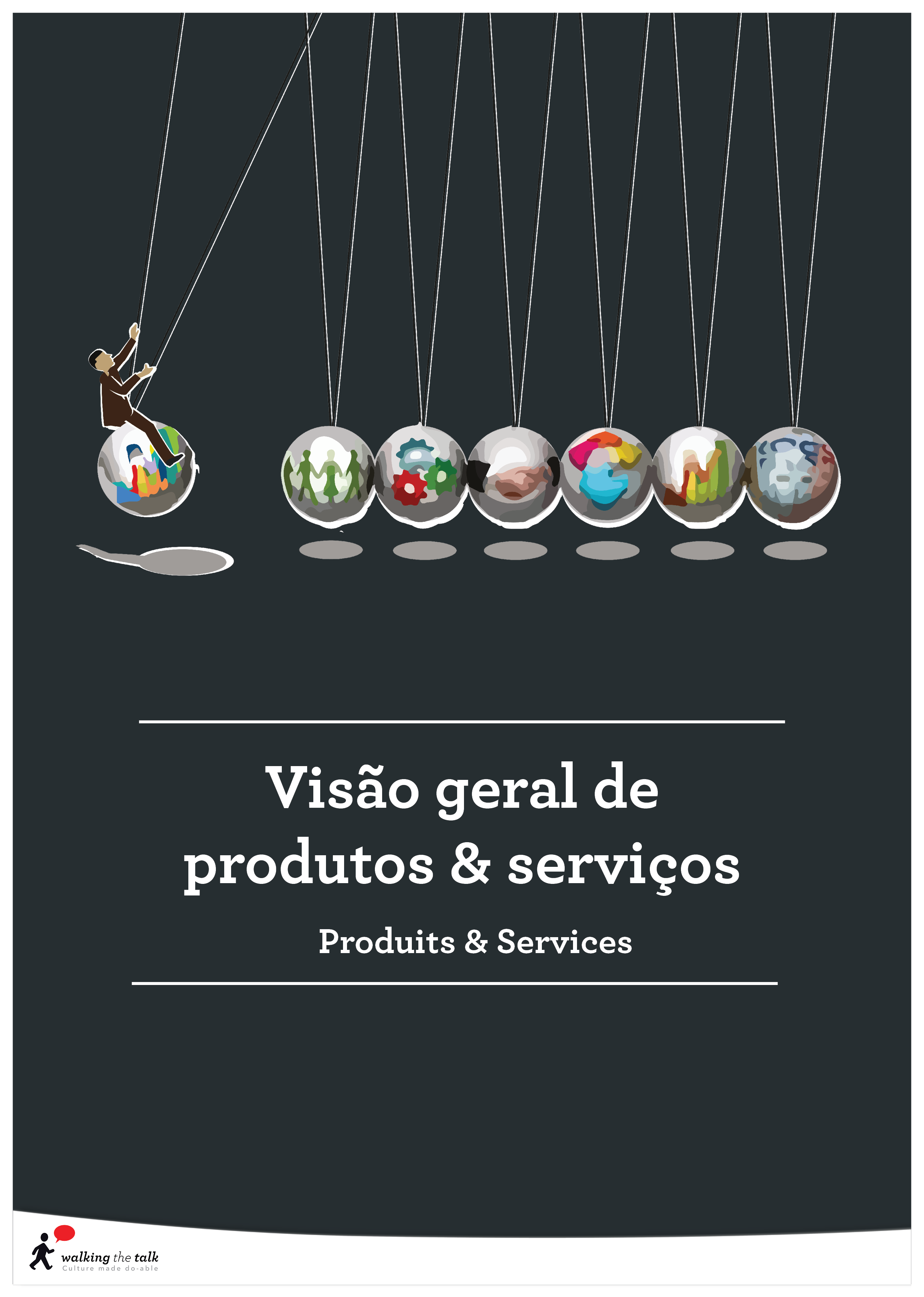 Products and Services - Cover Pages Portuguese
