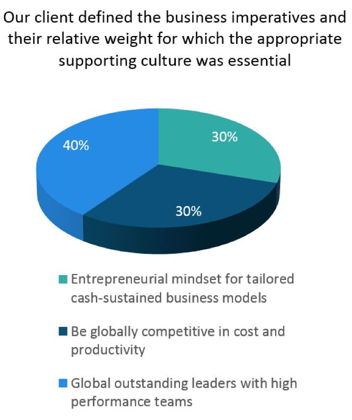 Manufacturing case study - culture