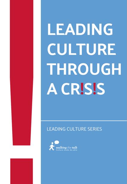 Leading culture through a crisis ebook
