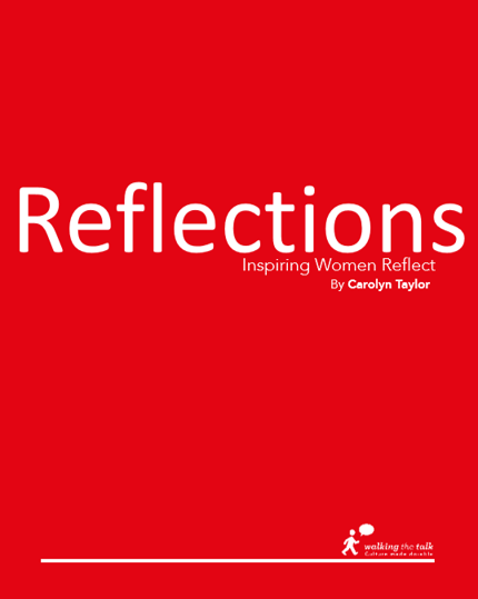 Reflections has been designed to provide you with some insights regarding the world of organisational culture, and offers ideas and practical examples of how you can make culture work for you and your organisation.