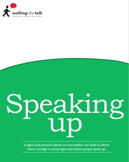 Speaking up eBook