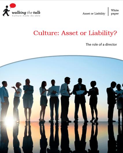 Culture: Asset or Liability?