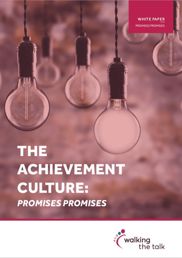 Culture change white paper