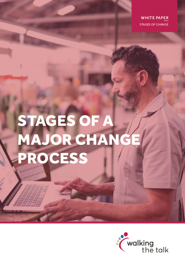 2021 Stages of a major change process