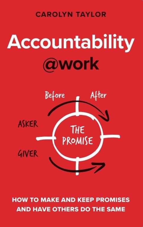 Accountability@work by Carolyn Taylor