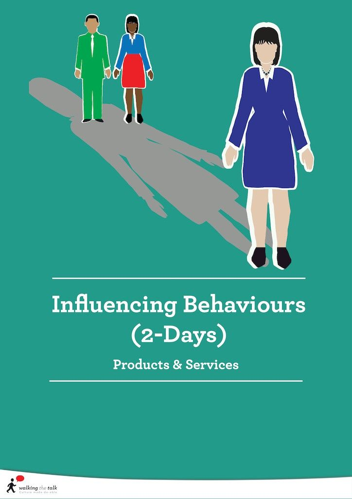 Influencing Behaviours 2-days | Culture Change