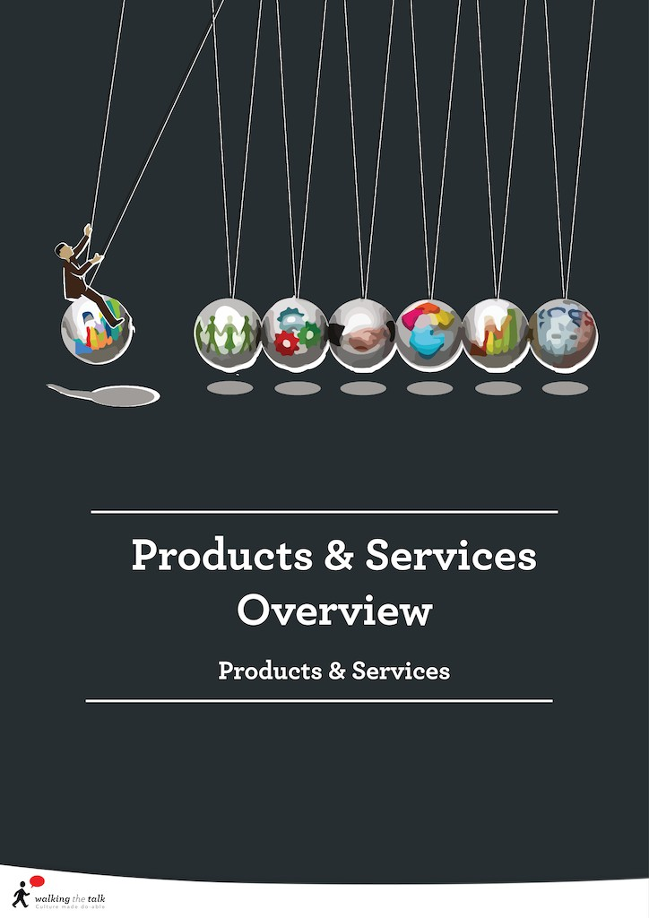 Culture Transformation Products & Services