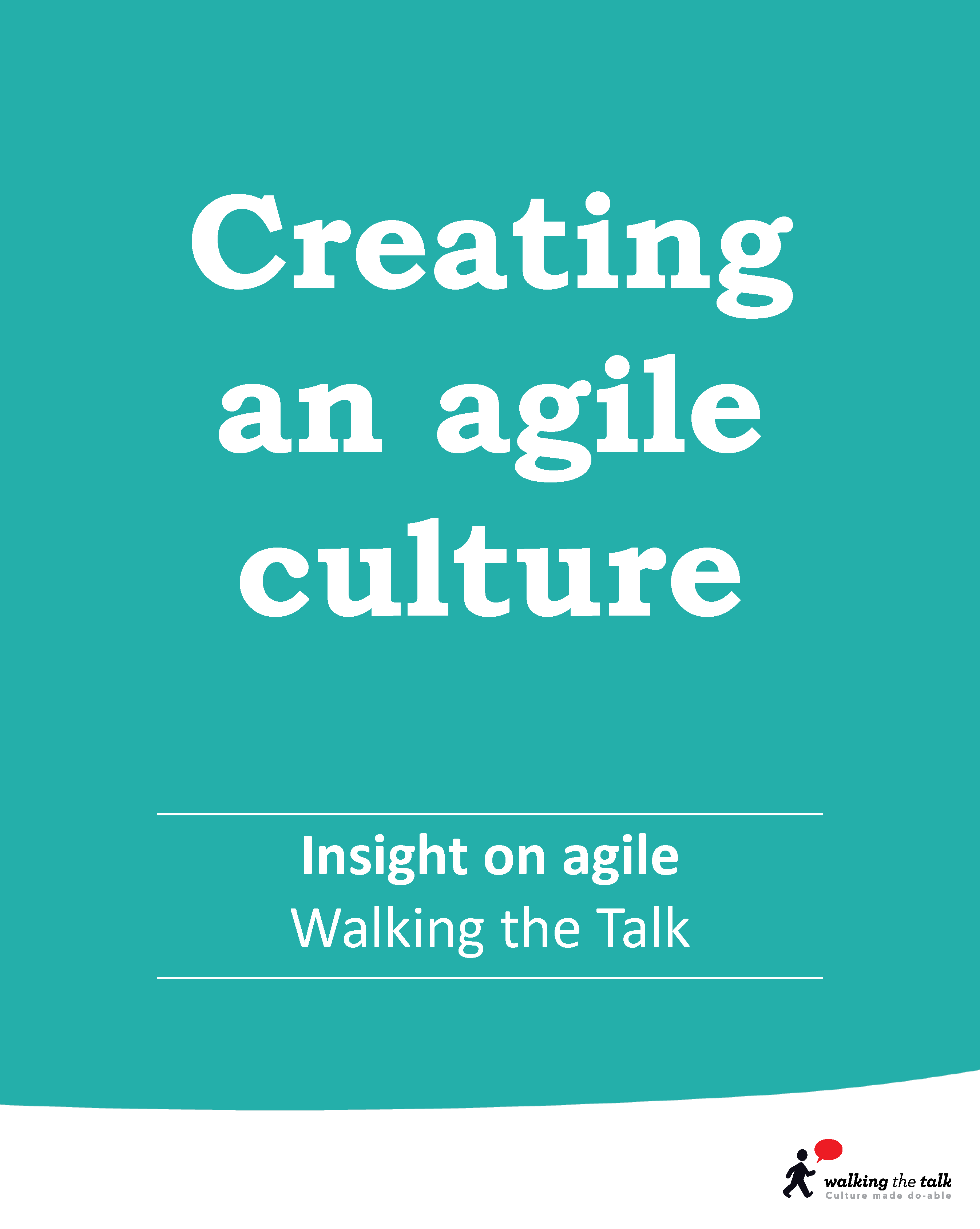 Creating an agile culture | culture change video