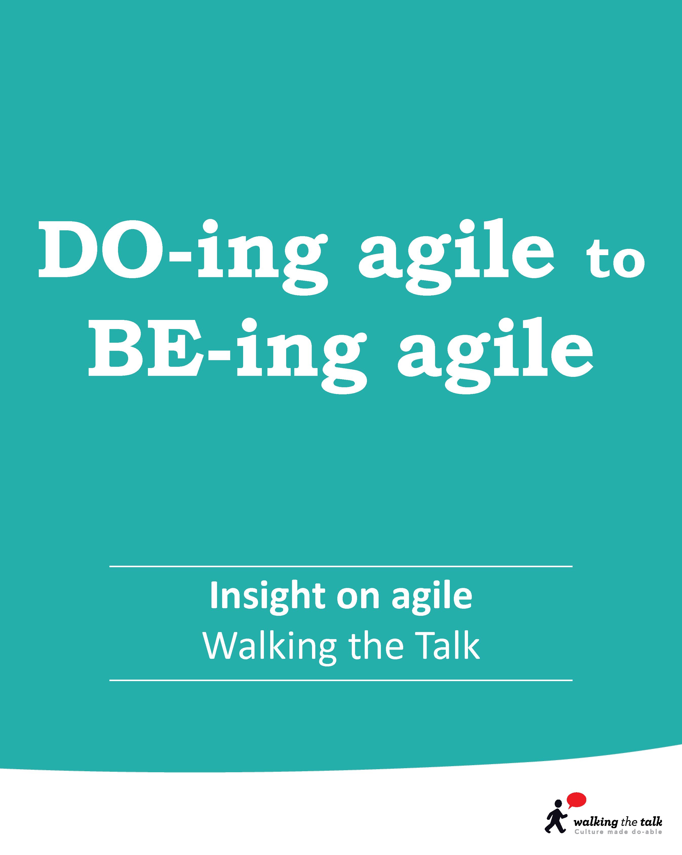 Agile culture | Culture change