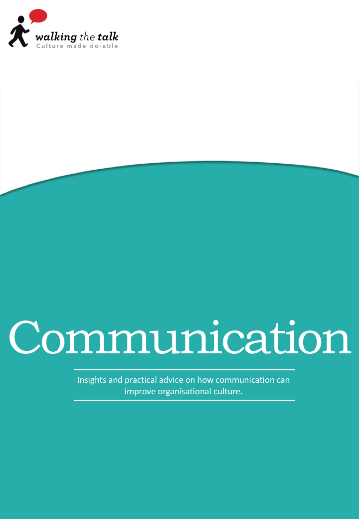 Communication ebook | Culture change
