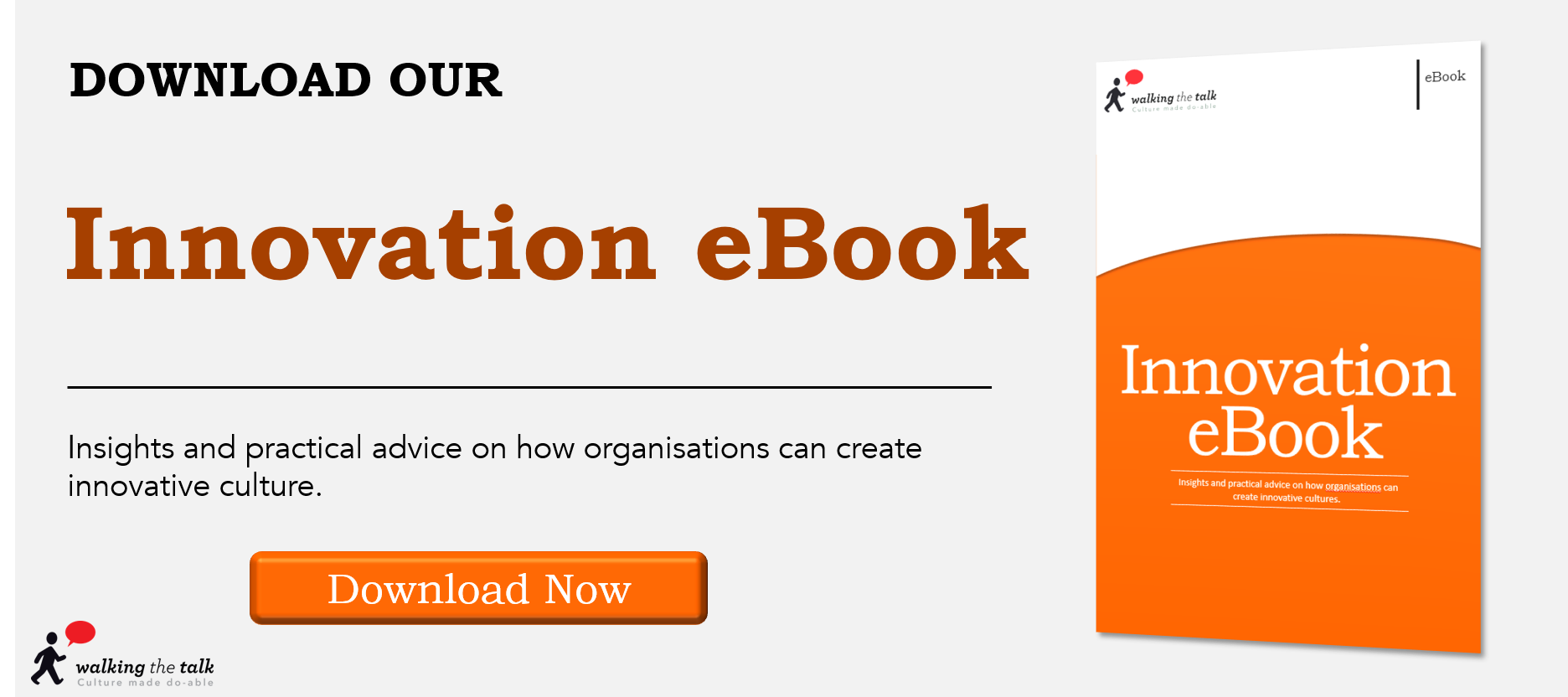 Download Walking the Talk's free Innovation eBook