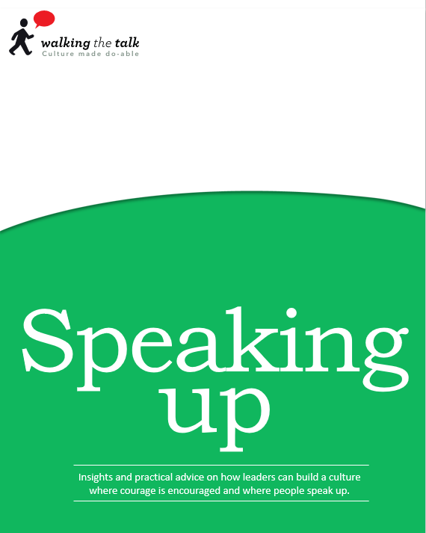 Speaking up ebook